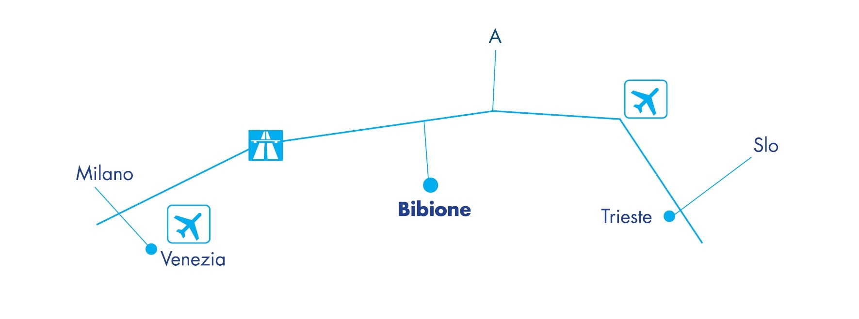 Cartina Bibione